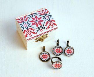 Cadouri bijuterii cu modele traditionale set 0598