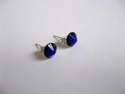 Cercei culoare albastra cu cristale Swarovski 24030.
