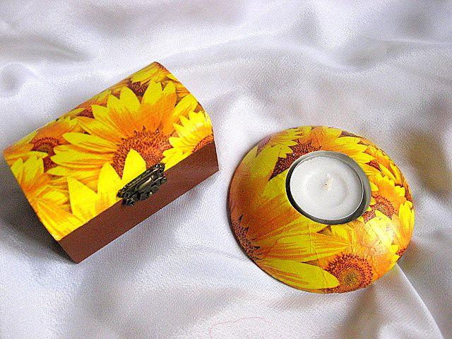 Floarea soarelui set cadou 25953.