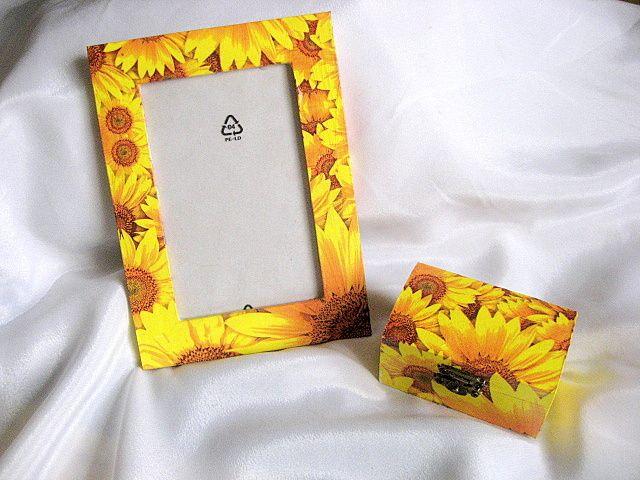 Set cadou cutie si rama decorata 25952