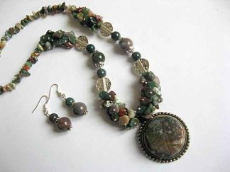 Bijuterii pietre agate indiene, pietre semipretioase 22170