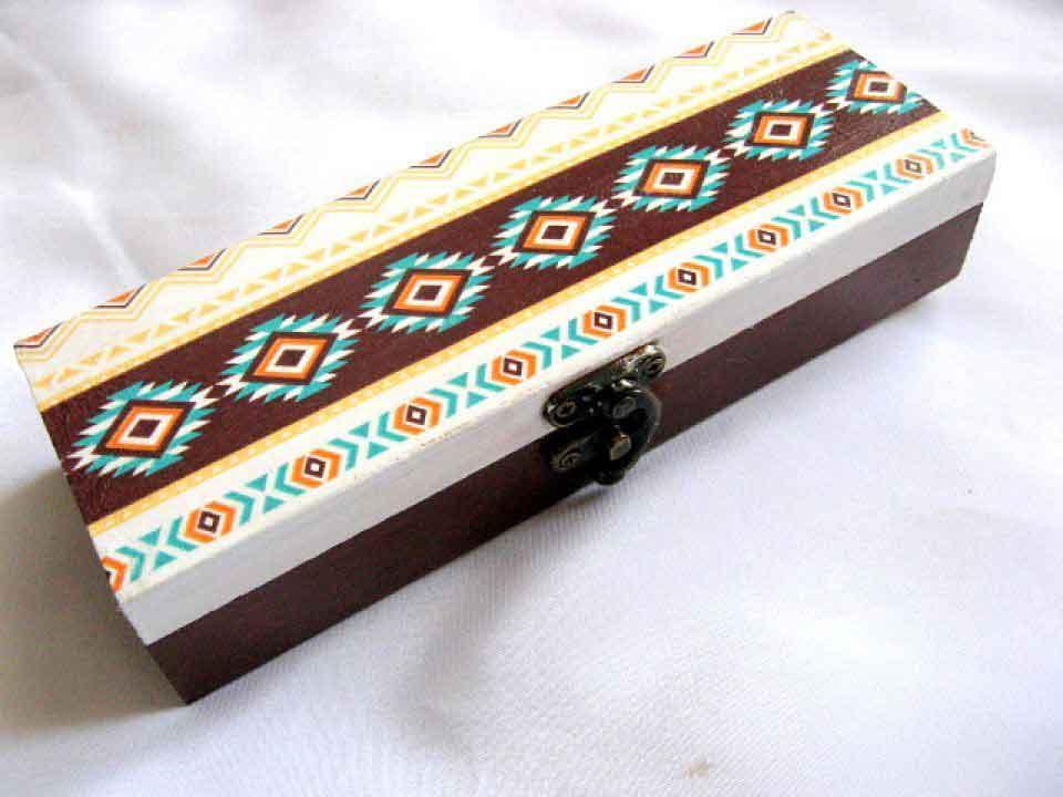 Cutie motive traditionale romanesti, cutie lemn 28133