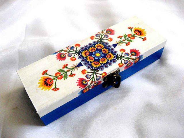 Motive florale cutie lemn motive traditionale romanesti 28140