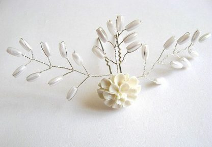 Accesorii nunta, ac mireasa rasina si perle 22824