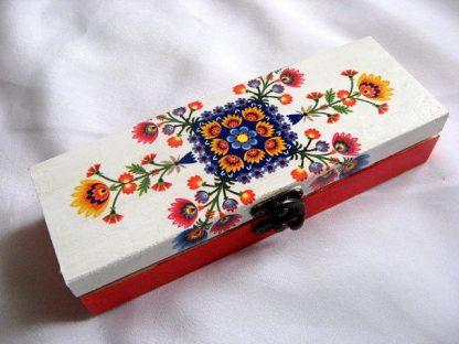 Cutie lemn motive populare traditionale 28148