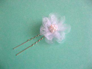 Perle sticla si organza, ac par mireasa, produs nunta 16783