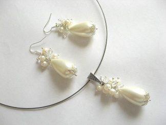 Set mireasa cu perle deosebite de mallorca 8857