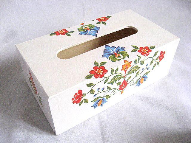 Cutie servetele hartie motive traditionale romanesti 27955