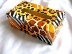 Design piele de tigru, design avangardist cutie servetele hartie 28704