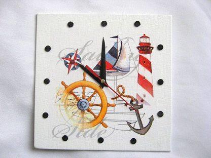 Elemente marinaresti ceas perete, carma, roza vanturilor, vas, ancora, far 27595