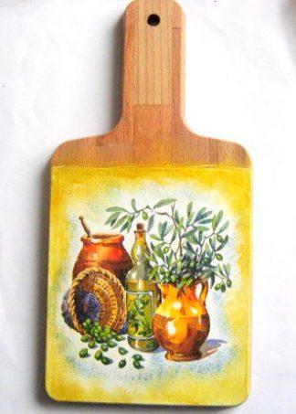 Tablou natura moarta, tablou pe lemn pictat cu acrilice 26326
