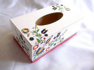 Cutie lemn servetele hartie cu motive traditionale romanesti 39841