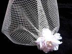 Voaleta ieftina mireasa lucrata manual, voaleta nunta femei 23334.