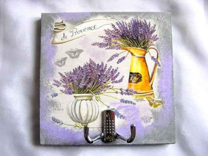 Cuier haine, design vaza flori si stropitoare cu flori de lavanda 28096