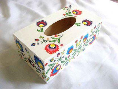 Cutie servetele cu motive traditionale, cutie servetele hartie 28741
