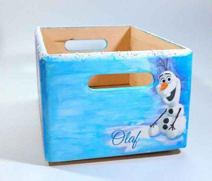Desene Frozen, printese Anna, Elsa si Olaf ladita lemn, ladita transport 7303 poza a 2a