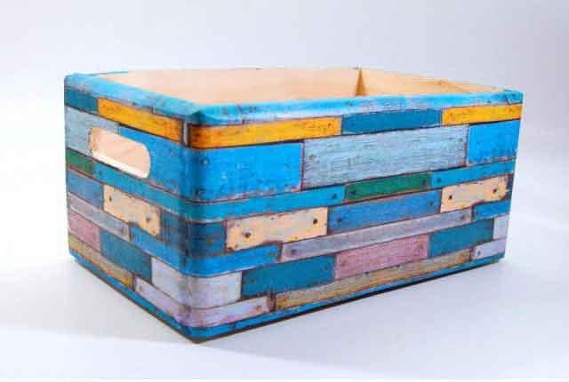Ladita model modern abstract, un gen de caramizi multicolore model 7384