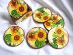 Suporturi cu floare soarelui, suporturi pahare si cani 26671