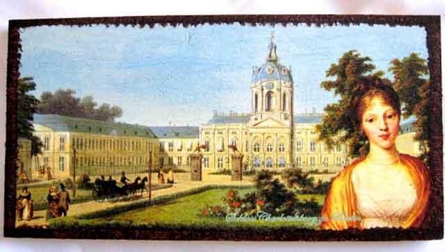 Tablou din epoca aristocratica, tablou lemn cu femeie in prim plan 17457