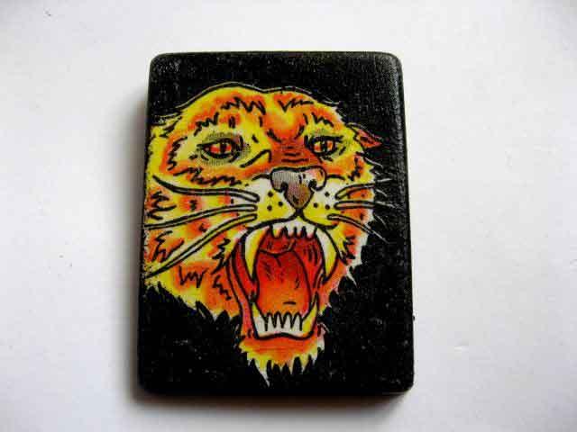 Magnet cu cap de tigru, magnet decoratiune frigider 23436