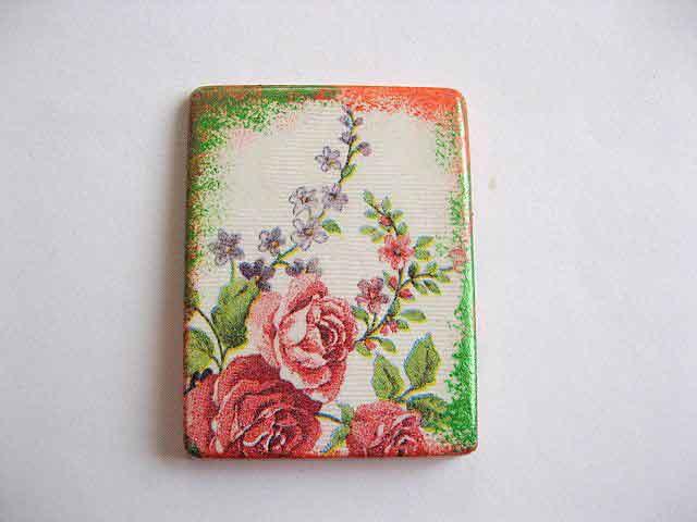 Magnet cu flori, magnet din ipsos pentru frigider 23617
