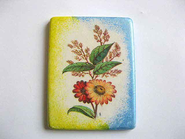 Magnet cu model floral gen ikebana, decoratiune magnet frigider 25230