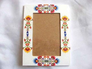 Rama foto cu motive traditionale, rama fotografii handmade 27258