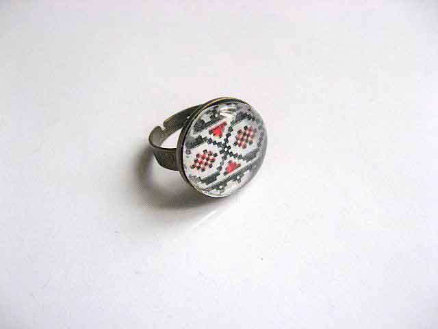 Inel simplu reglabil cu motiv traditional, inel femei 29757
