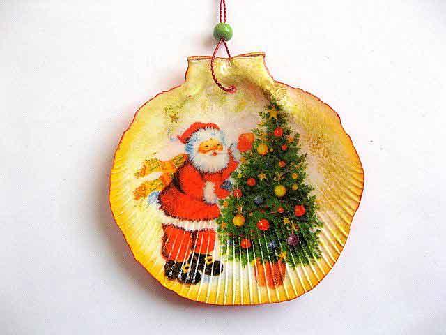 Ornament sarbatoare Nastere Mantuitor, ornament brad cu Mos Craciun 29862