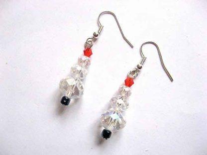 Cercei cristale braduti, cadouri bijuterii femei 30190