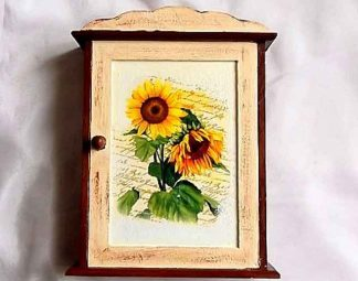 Dulapior floarea soarelui, dulapior chei lemn 32114 poza exterior