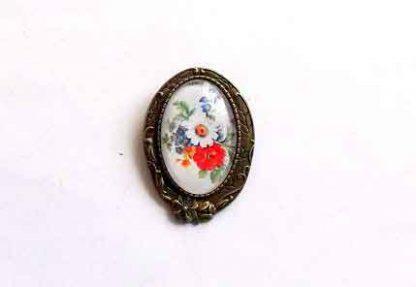 Bijuterie de prins in piept, brosa cu model floral 32277