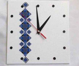 Ceas cu motiv traditional coloana infinitului stilizata, ceas de perete 32026