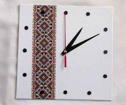 Ceas perete cu motiv traditional deosebit, ceas de perete simplu 32030