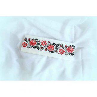 Cuier cu motiv traditional sub forma de trandafiri stilizati, cuier chei 0951