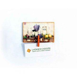 Decoratiune magnet frigider cu clema, magnet pentru biletele sau fotografii 134201