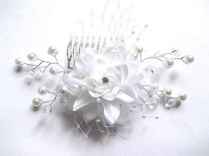 Pieptan perle artificiale, pieptan mireasa 32554