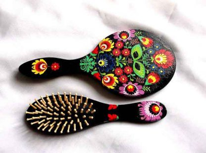 Set motiv traditional floral stilizat, flori stilizate set 32812