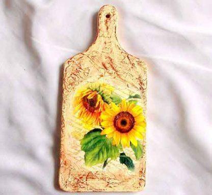 Tablou cu floarea soarelui, tablou bucatarie model 32790