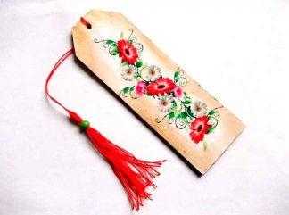 Flori campenesti, semn de carte lemn cu flori campenesti 35063