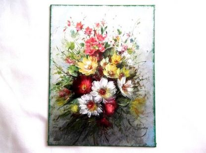 Buchet de flori campenesti, tablou de panza 36322