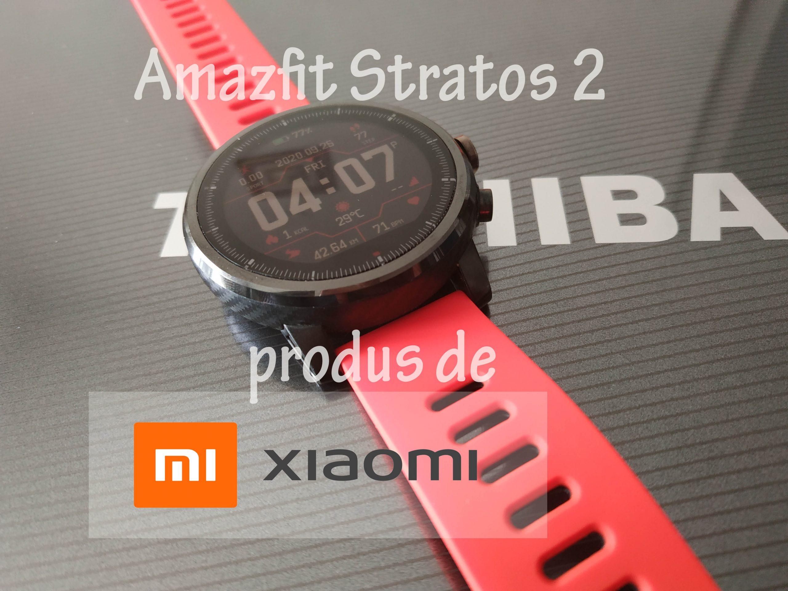 Xiaomi Amazfit Stratos 2 ceas fitness