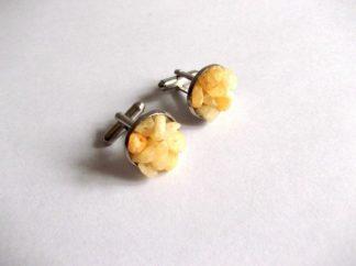 Butoni calcit galben, butoni camasa barbati 39098