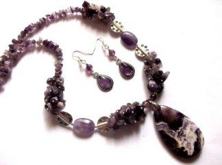 Set pietre ametist, bijuterii pietre semipretioase ametist 39770