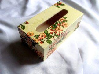 Cutie cu flori de cires, cutie servetele de hartie 39870